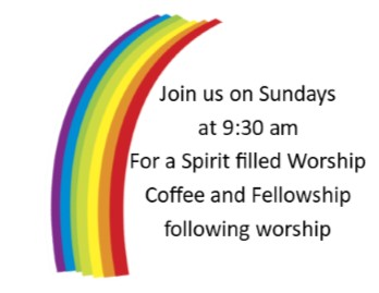 Join Us on Sundays at 9:30 am for a spirit filled worship